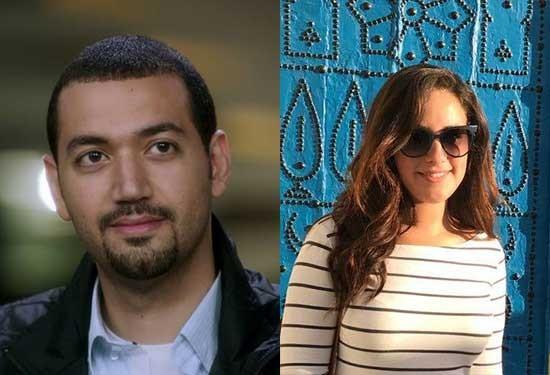 أنباء وأقاويل عن زواج معز مسعود وشيري عادل