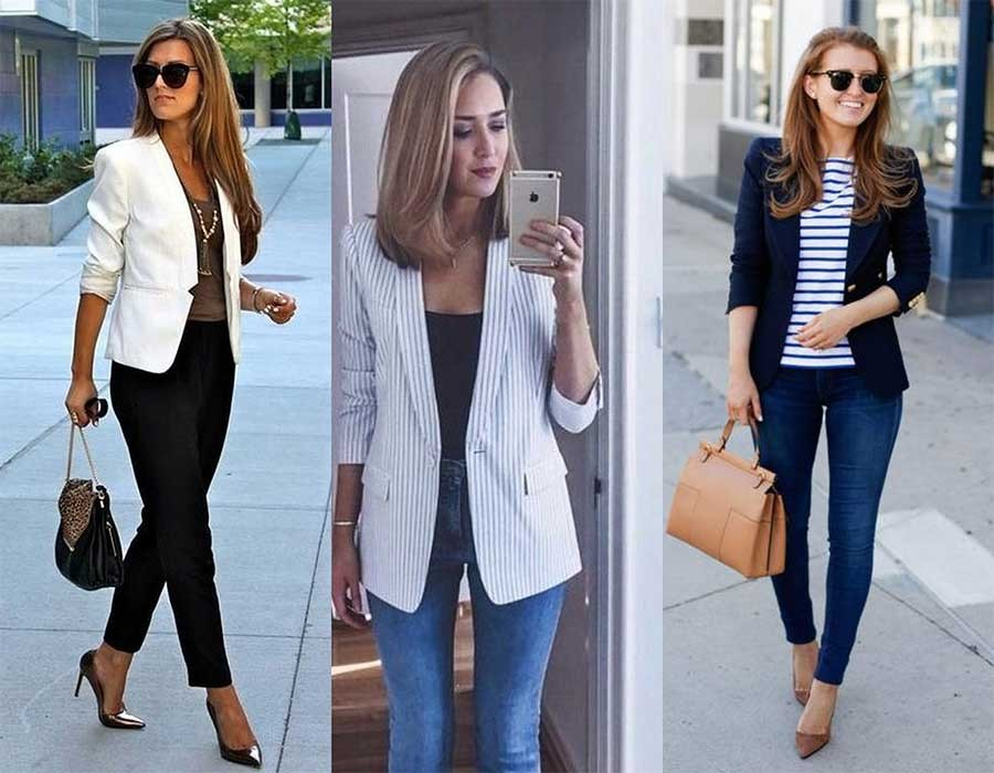 شاهدي بالصور أفكار مُختلفة لارتداء البليزر