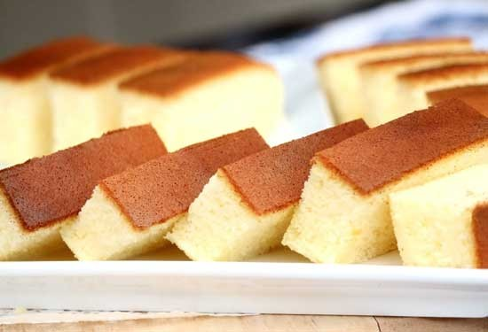 طريقة عمل الكيكة الاسفنجية بالبرتقال
