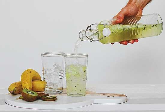 طريقة عمل عصير الكيوي