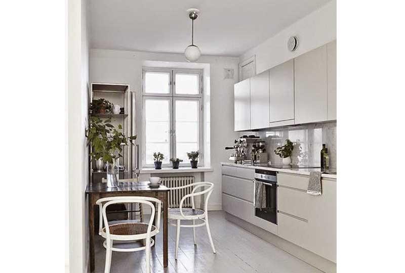 تصميم مطبخ أبيض