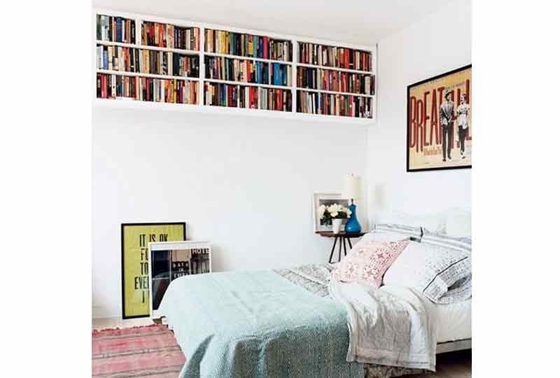 تصميمات مكتبات حائط
