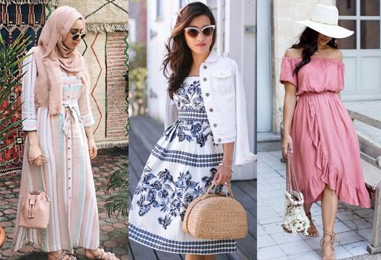 50 طريقة لارتداء الفساتين هذا الصيف