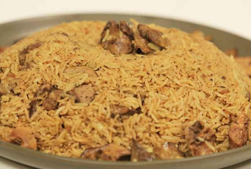 طريقة عمل الأرز البسمتي بالخلطة