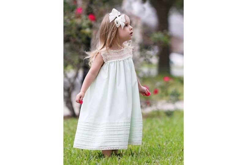 فستان أطفال قماش