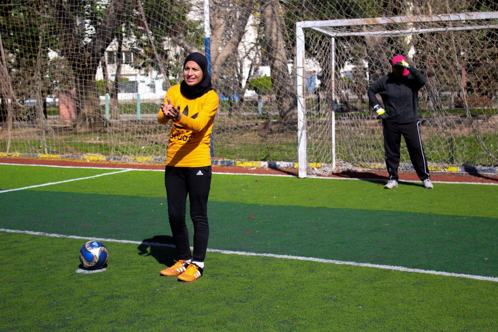 ياسمين تحكي :عشقت الكرة من صغري ولن أعيش حياتي بذنب الآخرين