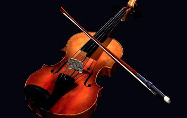 موسيقى آلة الكمان