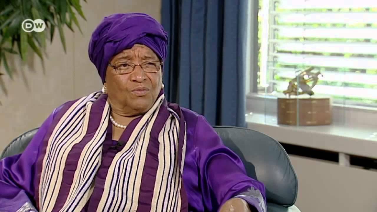 """""""المرأة الحديدية"""" والرئيسة الأولى في أفريقيا"""