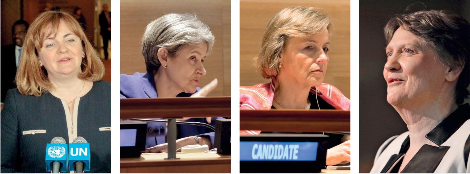 بعد منع النساء من الترشح..لأول مرة 4 سيدات يتنافسن بشراسة على منصب أمين عام الأمم المتحدة!