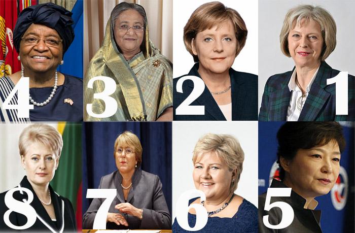 8 نساء يقدن العالم  .. تعرفي عليهن