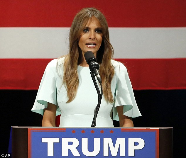"""""""ميلانيا ترامب"""" على خطى زوجها في إثارة الجدل"""