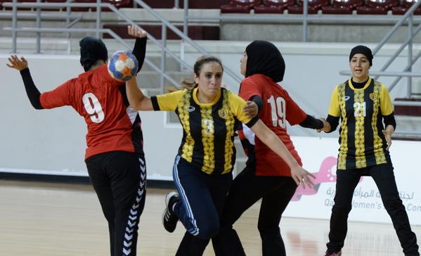 ناشئات مصر لكرة اليد يحققن الفوز في بطولة العالم