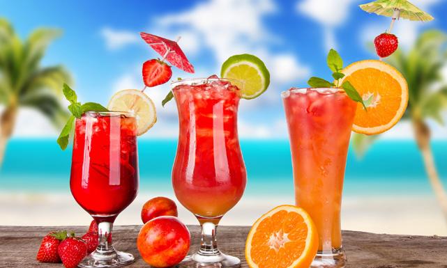 مشروبات باردة لصيف حار