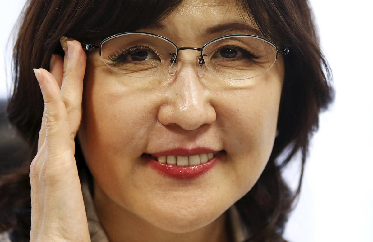 """""""تومامي إينادا"""" المرأة الثانية في وزارة الدفاع اليابانية"""