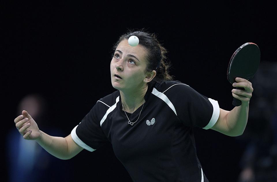 """لاعبة التنس المصرية """"دينا مشرف"""" تودع الأولمبياد بعد خسارتها أمام تايلاندا"""
