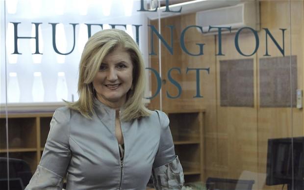 """استقالة مؤسسة """"هافنغتون بوست"""" من منصبها"""