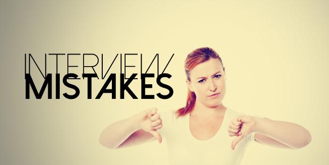 أخطاء تجنبي الوقوع فيها خلال مقابلات العمل