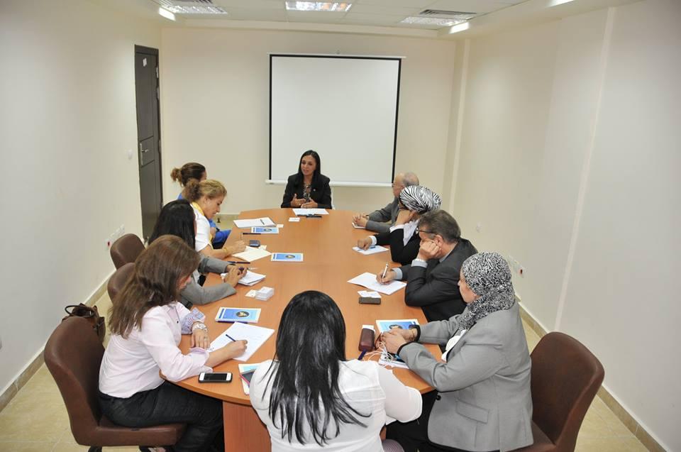 """""""مايا مرسي"""" تبحث سبل دعم وجود المرأة فى سوق العمل المصرى مع وفد من""""البنك الأوربي"""""""