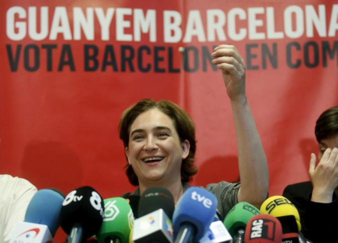 """""""إدا كولاو"""".. عمدة برشلونة المعارضة للتقشف الحكومي"""