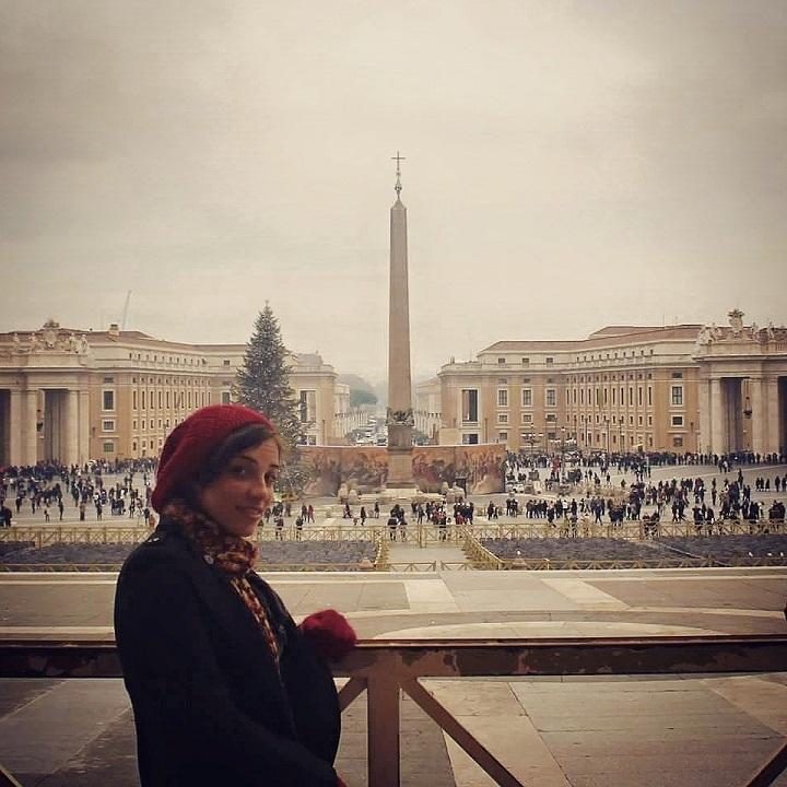 """""""منة شاهين"""".. سافرت لأكثر من12 دولة وتخطط لزيارة أفريقيا وآسيا"""