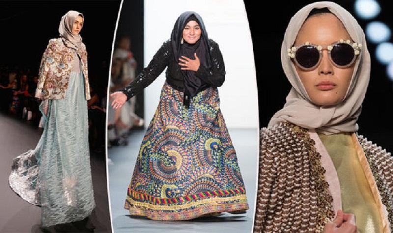 """مصممة أندونيسية تدخل تاريخ الموضة بـ """"الحجاب"""""""