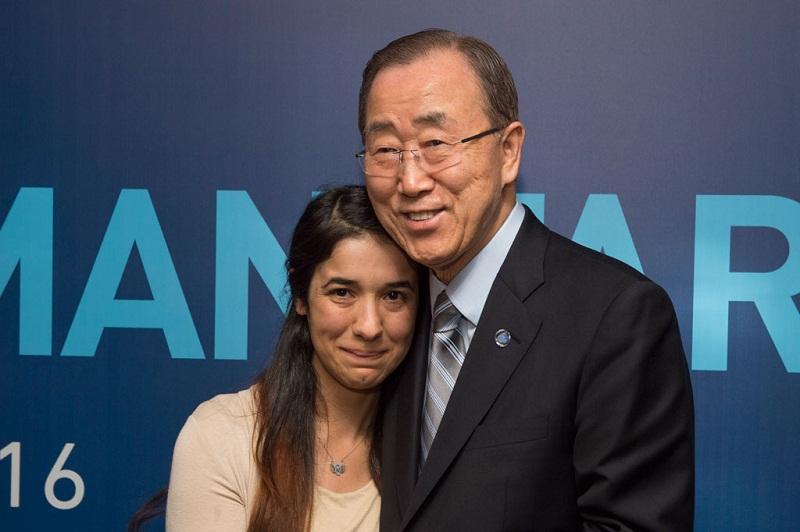 اليوم.. نادية مراد ضحية داعش تلقي كلمة في افتتاح الأمم المتحدة