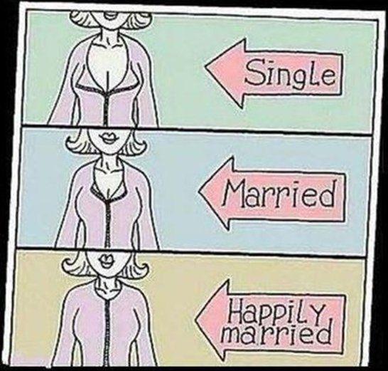 بالصور..الفرق بين الفتاة المتزوجة والغير متزوجة