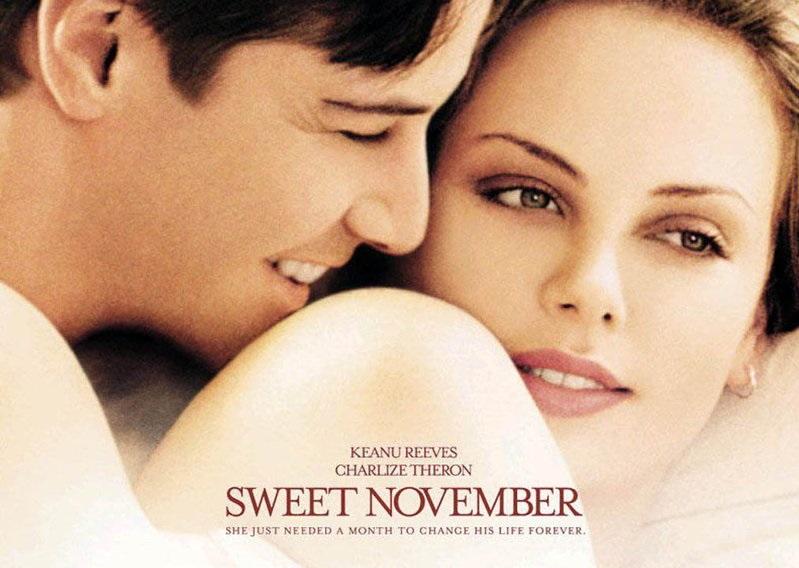 """""""Sweet November"""".. أو كيف غيرت سارة حياة نيلسون"""