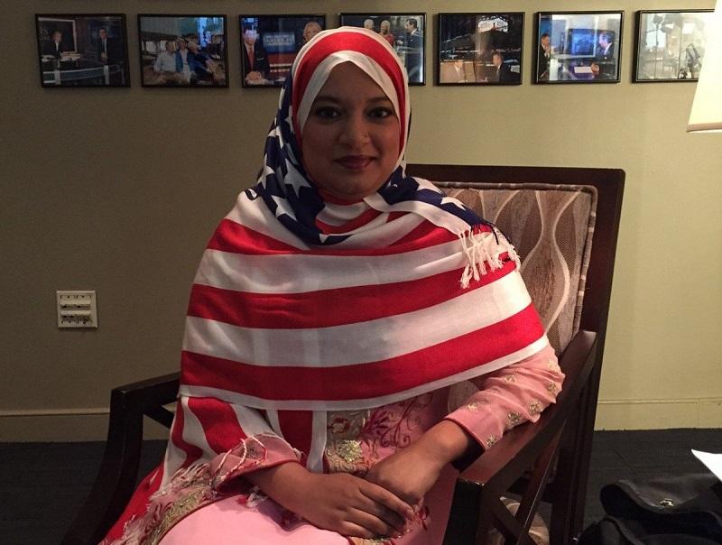 """صبا أحمد.. المسلمة التي دعمت فوز """"ترامب"""""""