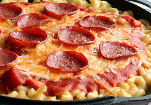 مكرونة البيتزا.. طبق سهل ولذيذ