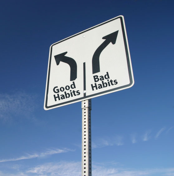 بالصور..عادات سيئة لابد من تجنبها