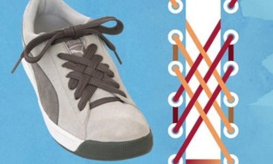 بالفيديو..أربع طرق مختلفة لربط الحذاء