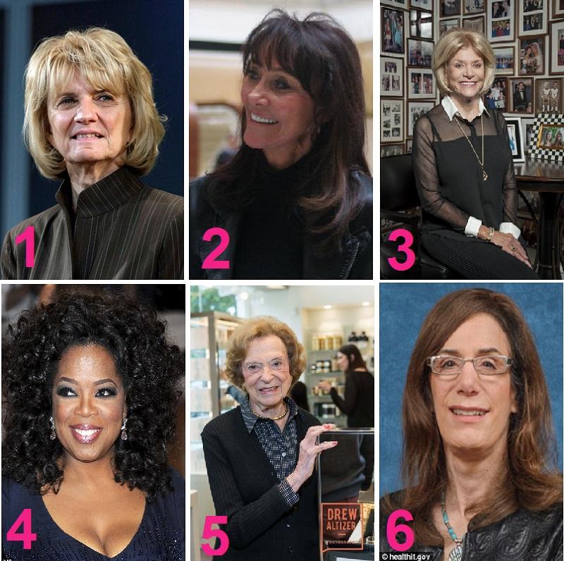 تعرفوا على النساء الأكثر ثراءًا في أمريكا