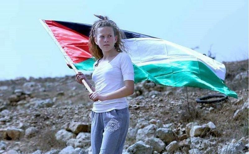 عهد التميمي.. فتاة فلسطين المتمردة التي لا تخشى دروع الإسرائيلين