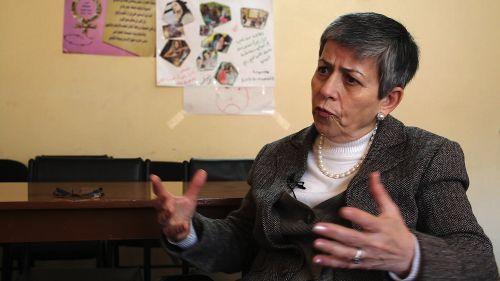 هناء إدور.. ناشطة عراقية دافعت عن حقوق الإنسان