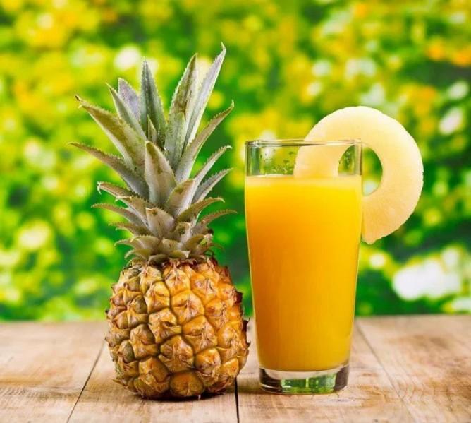 10 فوائد لعصير الأناناس
