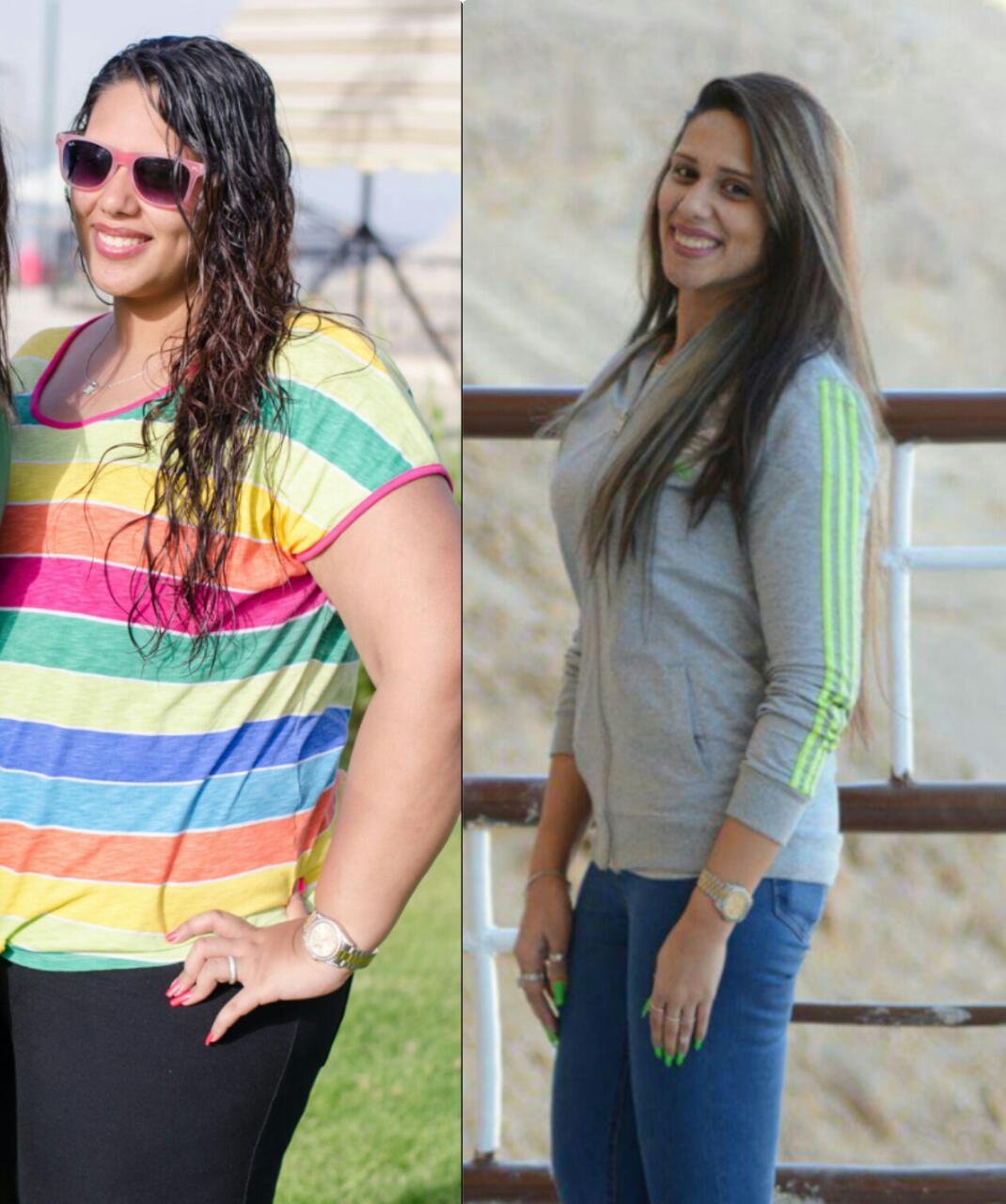سارة عبد المسيح مصممة أظافر فقدت من وزنها 52 كيلو