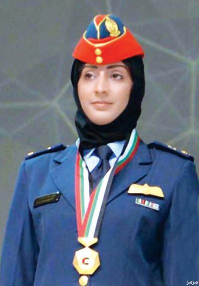 مريم المنصوري  .. أول رائدة طيران إمارتية