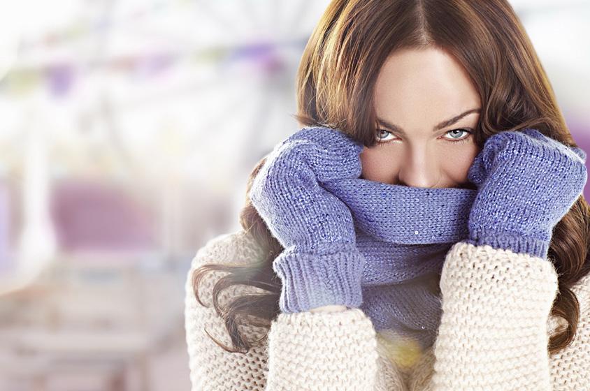 خمس خطوات غير مكلّفة لتغيّري من مظهرك الشتوي