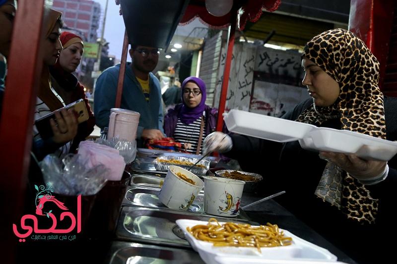 """""""شوكولولو"""" أول عربية أكل صيني في حلوان"""