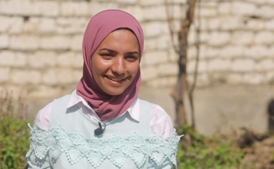 """""""شيماء عمر"""".. مهندسة مصرية تحول روث الحيوانات إلى غاز طبيعي"""