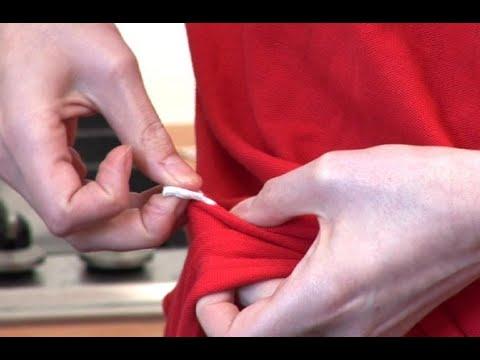 أبسط الطرق لإزالة اللبان من الملابس