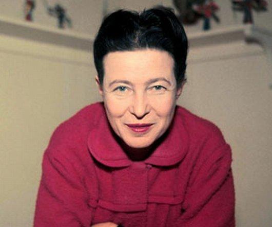 """""""سيمون دو بوفوار"""" أشهر رواد الحركة النسائية."""