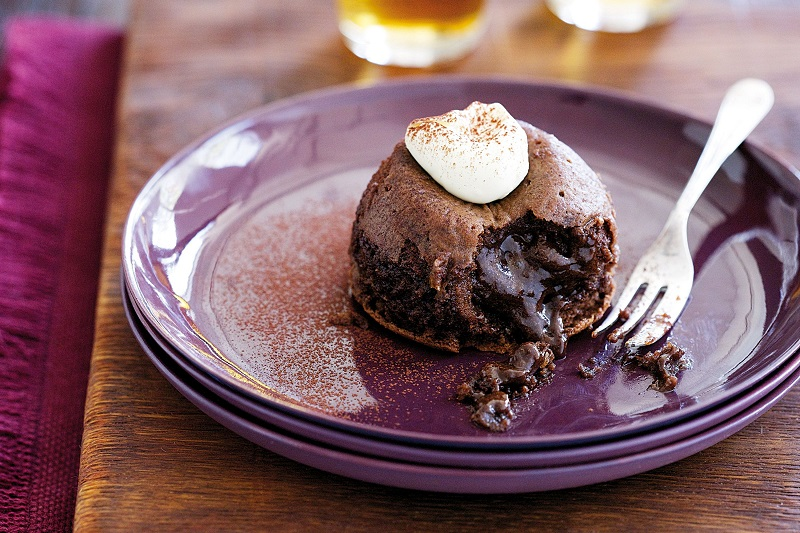 لعشاق الشوكولاتة.. وصفة كيك الـ Chocolate Lava