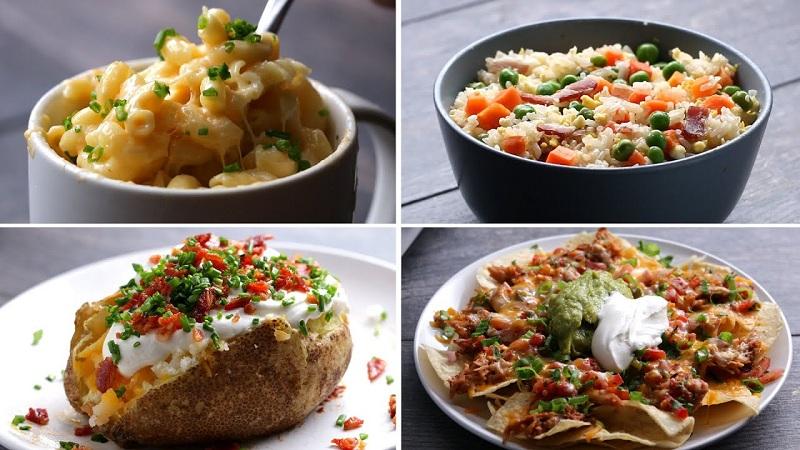 4 وجبات بسيطة باستخدام المايكرويف