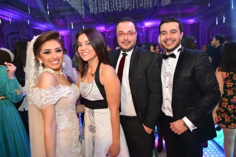 """""""عائلة ونيس"""" تحضر حفل زفاف شقيقتهم الصغرى """"ريم أحمد"""""""
