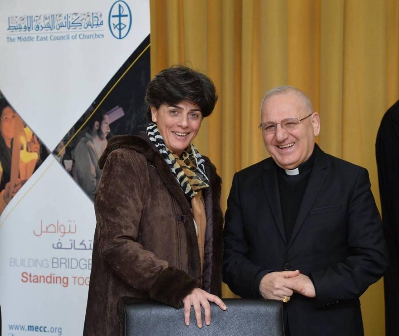ثريا بشعلاني.. أول سيدة تتولى أمانة مجلس كنائس الشرق الأوسط