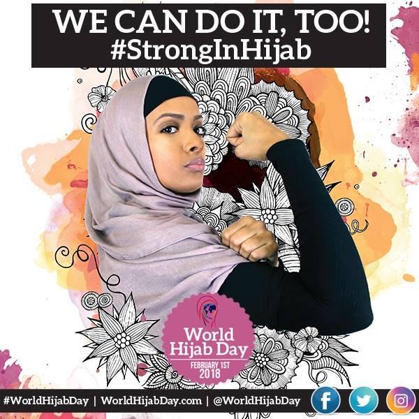 """""""قوية بحجابي"""".. العالم يحتفل """"بيوم الحجاب العالمي"""""""