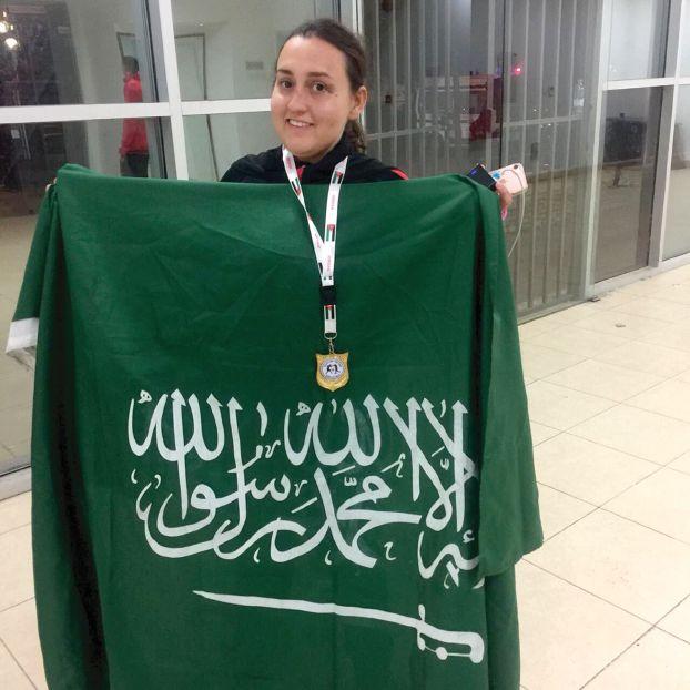 للمرة الأولى..  سعودية تفوز ببطولة دولية للملاكمة