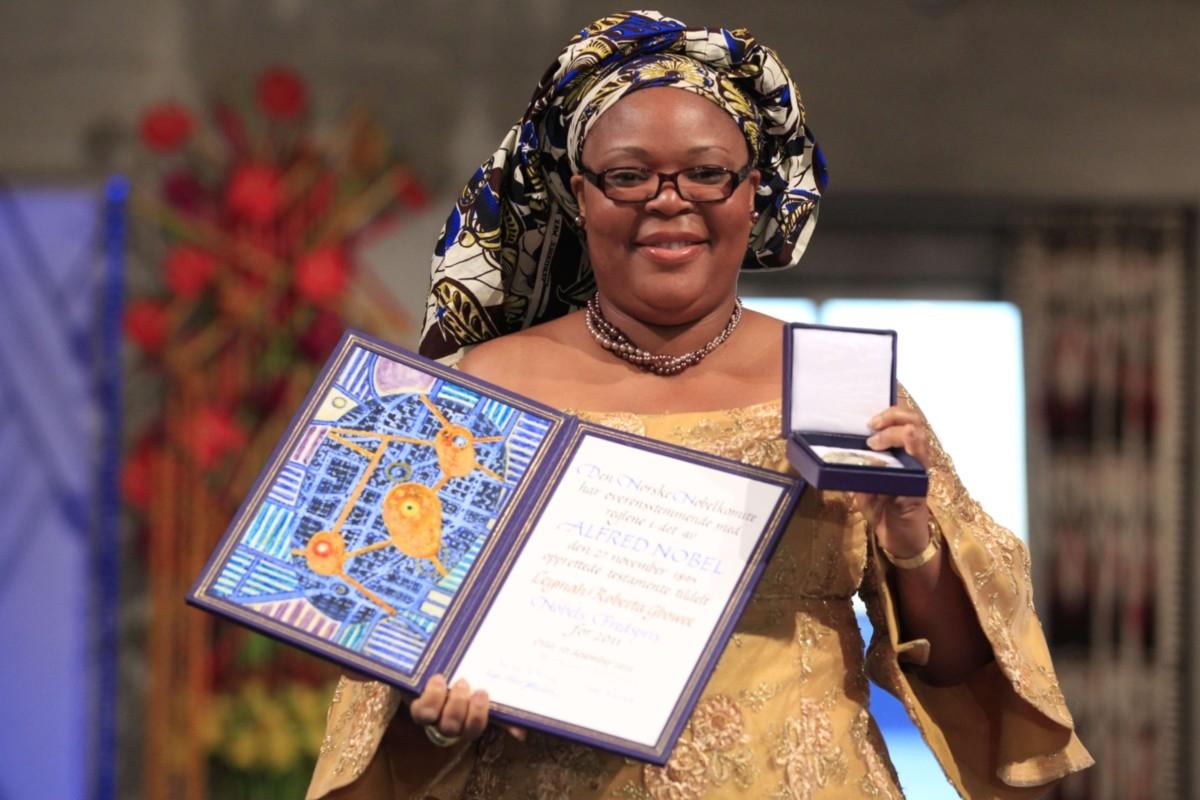 10 معلومات عن ليما جبوي.. الإفريقية صاحبة نوبل للسلام